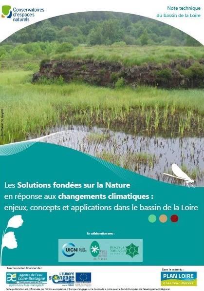 La note technique sur les Solutions fondées sur la Nature en réponse aux changements climatiques : enjeux, concepts et applications dans le bassin de la Loire